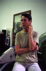 Yvonne Rainer, photo by Stefan Romer